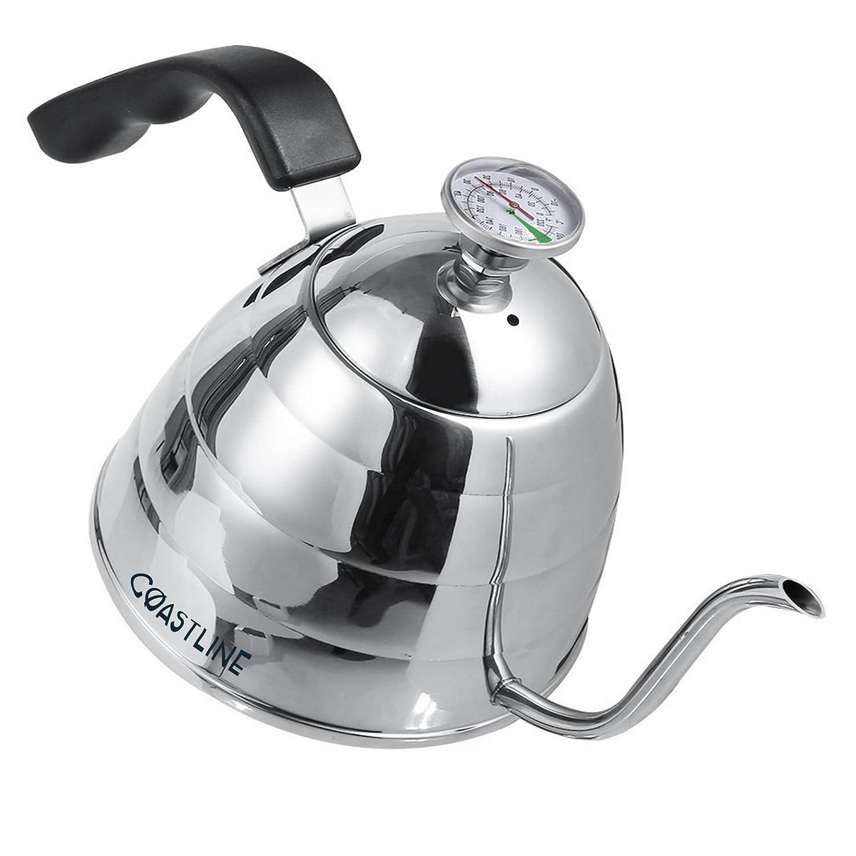 値頃 CoastLine Pour - Over Gooseneck Kettle   Built for In Easy No To Read Thermometer   900ML   Stainless Steel Kettle   Perfect for Pour Over Coffee and Tea   CoastLine - No Risk! by CoastLine B01HH8N2Z2, 仁多町:f5bdd5d4 --- ciadaterra.com