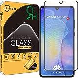 Jasinber Mica Vidrio Cristal Templado Protector de Pantalla para Huawei Mate 20 (Negro)