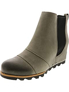 e25581f94243 SOREL Women s Out N About Leather Rain Snow Boot