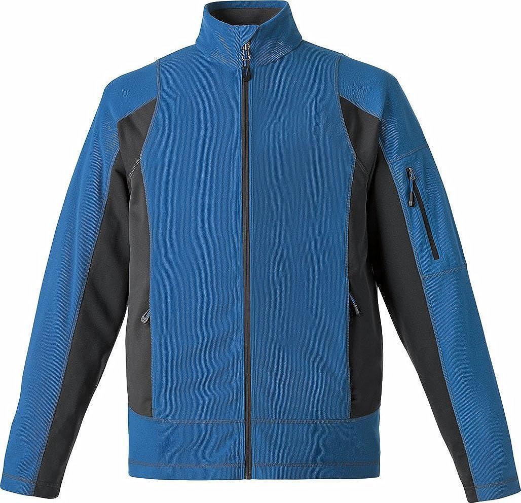 Nautical B... 88198 North End Generate Mens Textured Fleece Jacket XX-Large