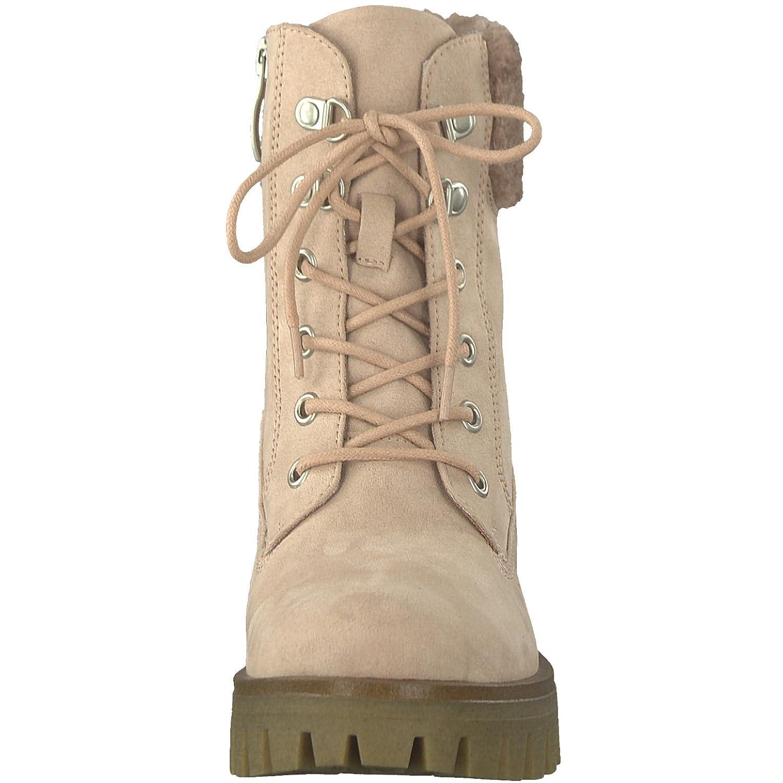 Tamaris 1 1 26715 39 Damen Stiefel, Stiefelette, Schnürstiefel, Schnür Boot, Boot, Winterstiefel, Herbstschuh für die modebewusste Frau, funktionaler