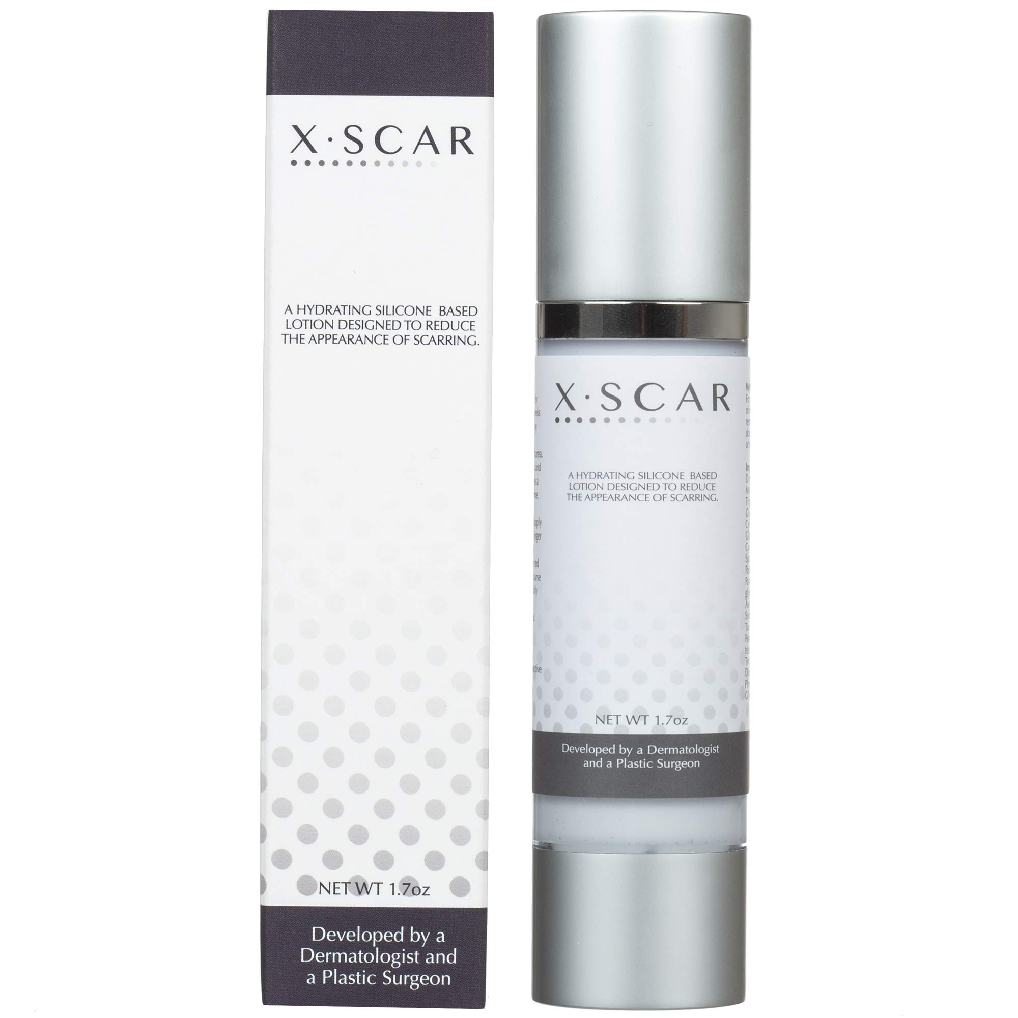 XScar Silicone Scar Treatment with Vitamin E | Developed by a Dermatologist and a Plastic Surgeon | Safe to use on all ages by XSCAR