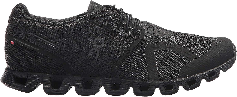 On-Running Womens Cloud All Black Running Shoe – 8.5