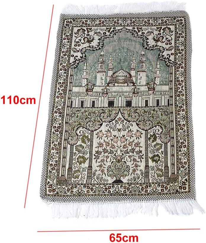 Muslim Prayer Rug Prayer Mat Carpet Prayer Blanket 65 X 110 cm