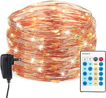 Brightown 40-Ft. 120-LEDs Fairy String Lights