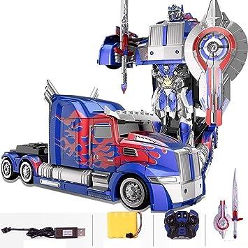 NEW Transformer Truck CAR Deformation Optimus Prime BumbleBee ROBOT Toy KID BOY