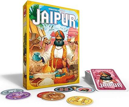 Juego de Cartas Jaipur 2 Player | 30 Minutos de Tiempo de Juego: Amazon.es: Juguetes y juegos