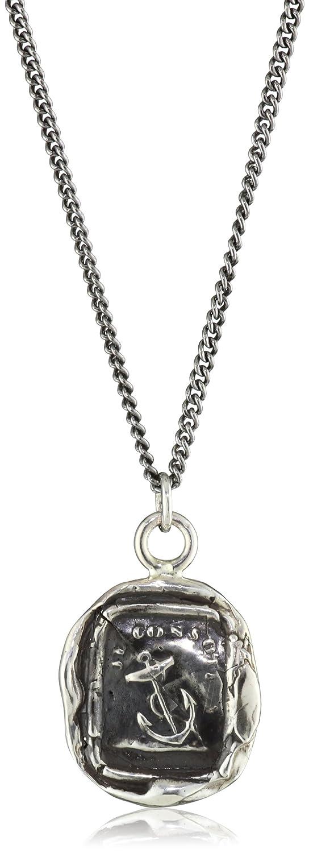 Pyrrhatalisman Sterling Silver Peace of Mind Pendant Necklace Pyrrha Design Inc N1245-18