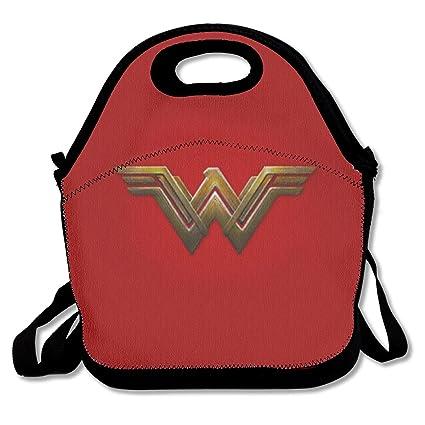 73f92e308770 Amazon.com - LIUYAN Custom Lunch Box Wonder Woman Logo Lunch Cooler ...