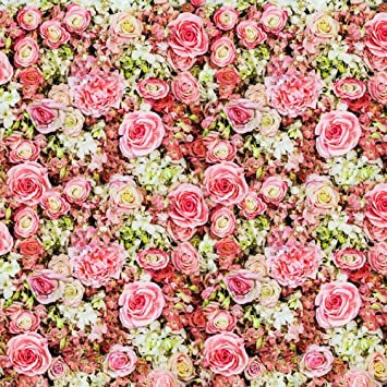 5x7ft pink flowers bed art fabric cloth photography amazon 5x7ft pink flowers bed art fabric cloth photography backdrop vintage floral wedding portrait photo backgrounds d mightylinksfo