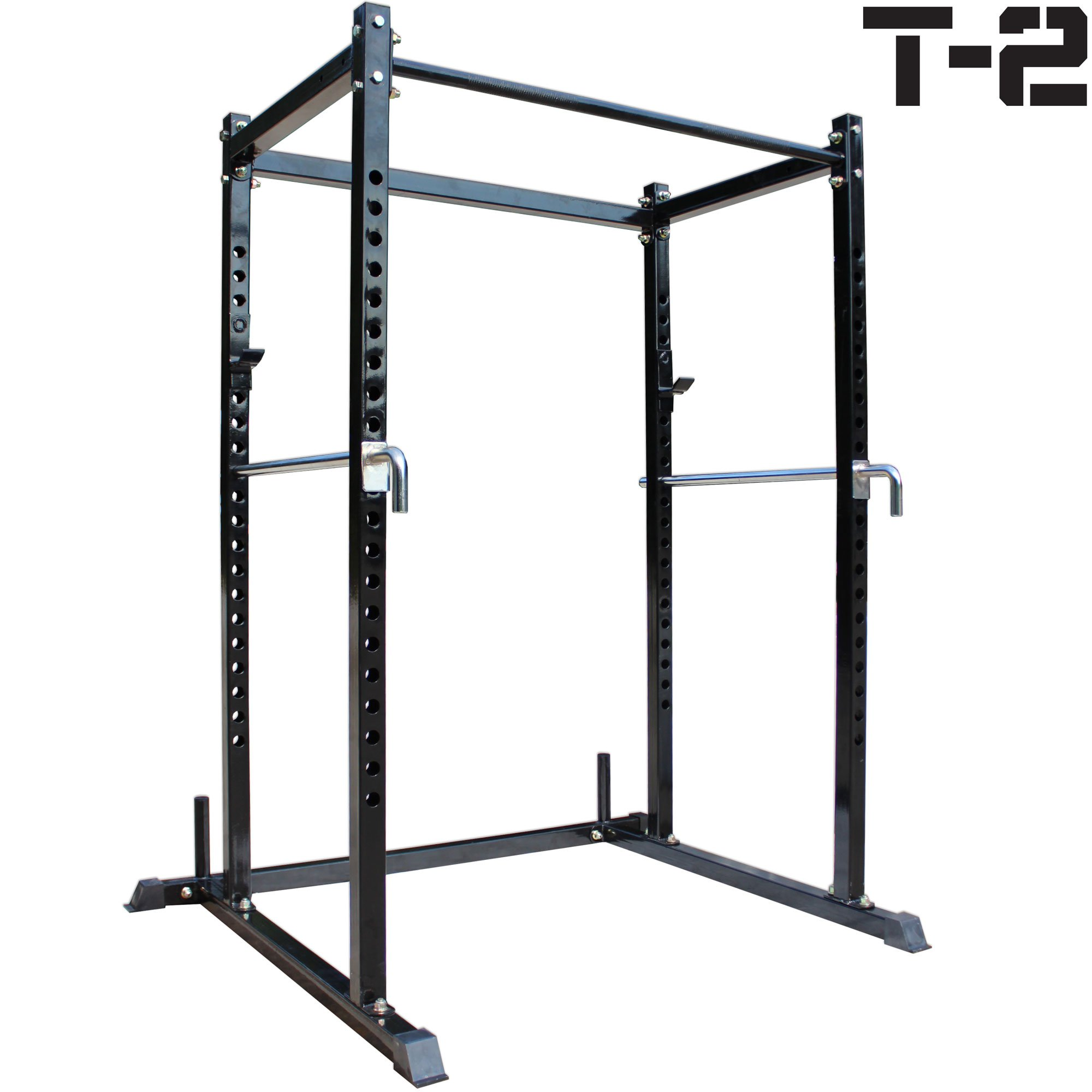 Titan T-2 Series Short Power Rack Squat Deadlift Cage Bench cross fit pull up by Titan Fitness