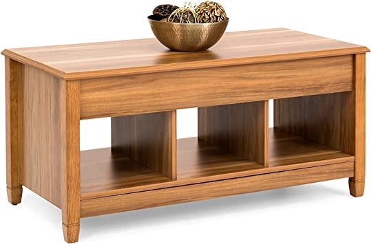Amazon Com Bcp Coffee Table Lift Top Storage For Living Room Wood