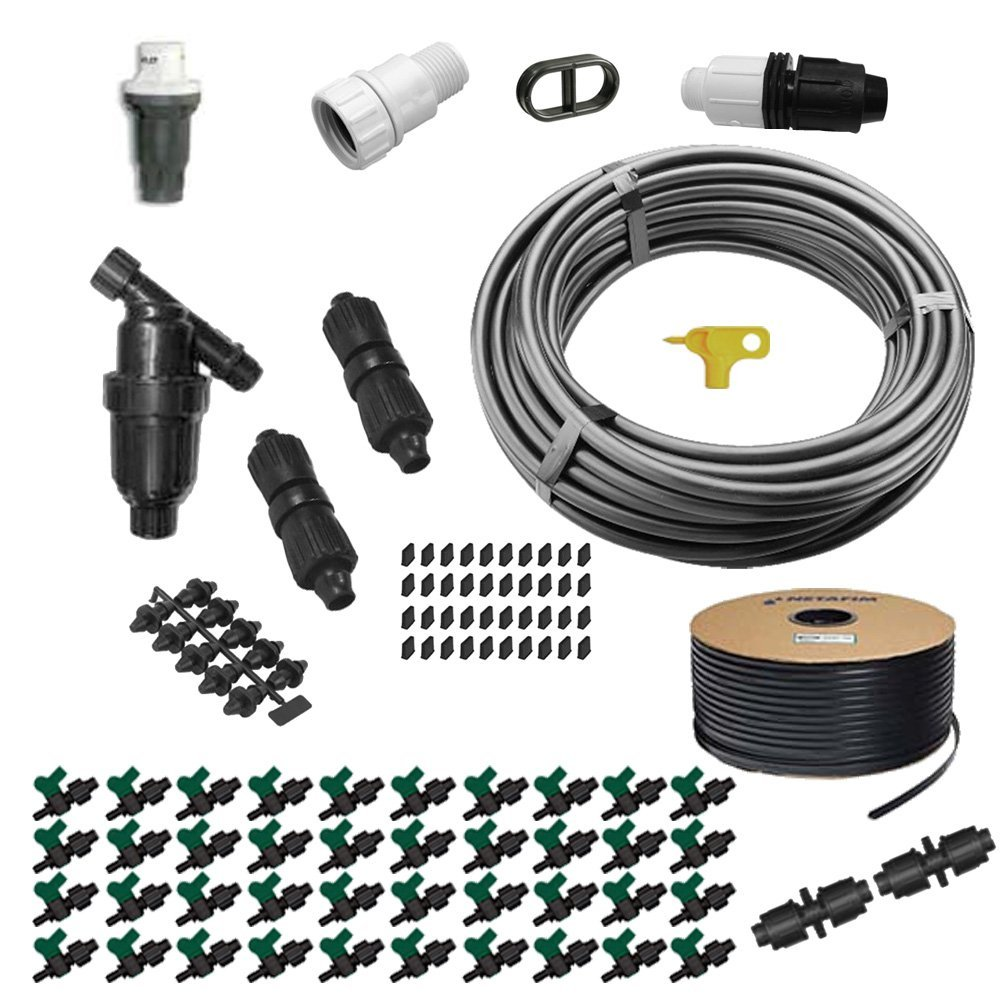 Irrigation Mart Drip Tape Garden Kit GK4000-RV by IRRIGATION-MART