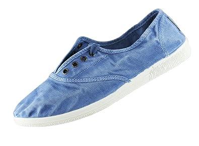690 World Eco Natural Blau Sneaker 612E Damen vmNw08n