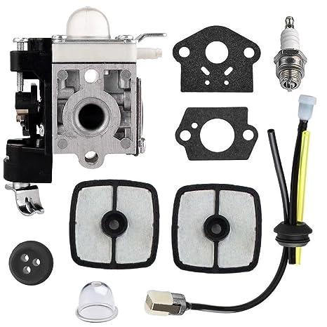 jahyshow rb-k106 carburador Kit Filtro de aire y bujía para ...