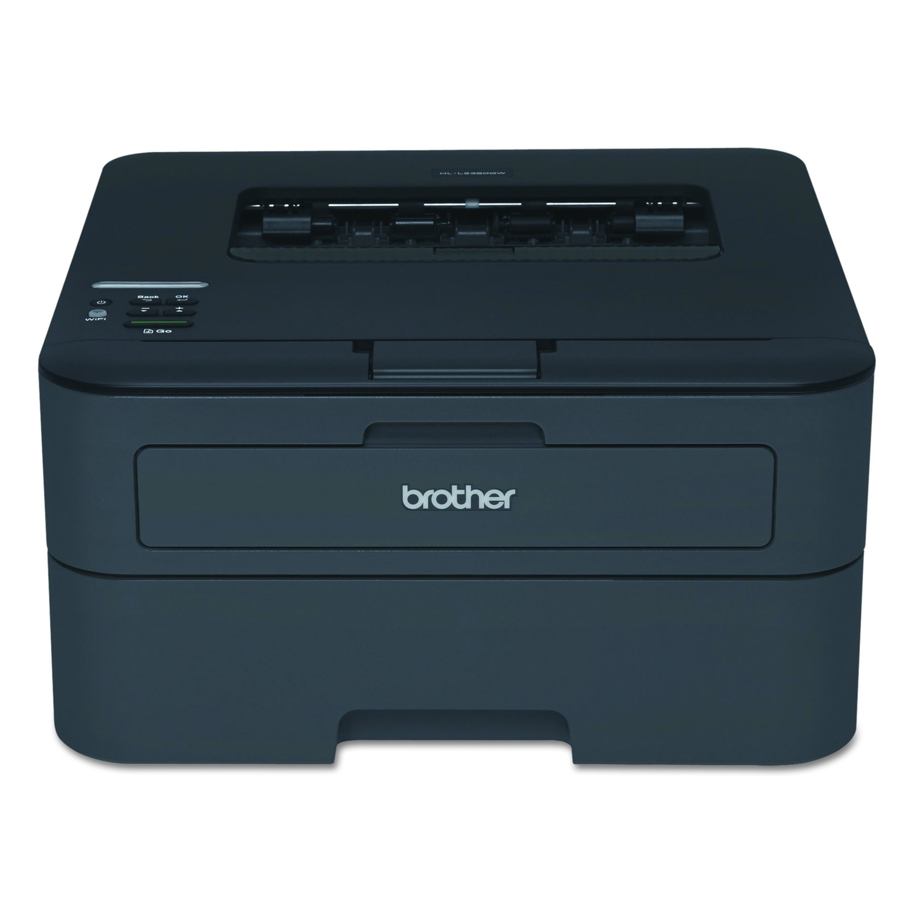 Brother HL-L2340DW Compact Laser Printer, Monochrome, Wireless, Duplex Printing, Amazon Dash Replenishment Enabled by Brother