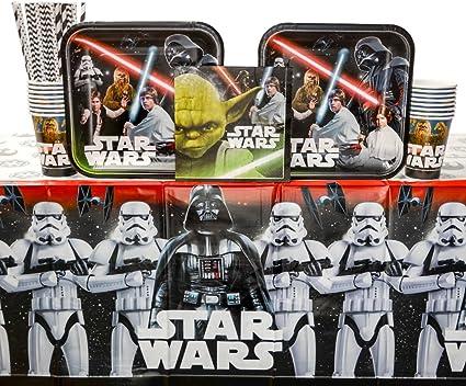 Amazon.com: clásico de star wars fiesta de cumpleaños ...