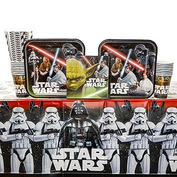 Suministros clásicos de fiesta de cumpleaños de Star Wars ...
