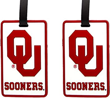 Set of 2 Mississippi State Bulldogs NCAA Soft Luggage Bag Tag