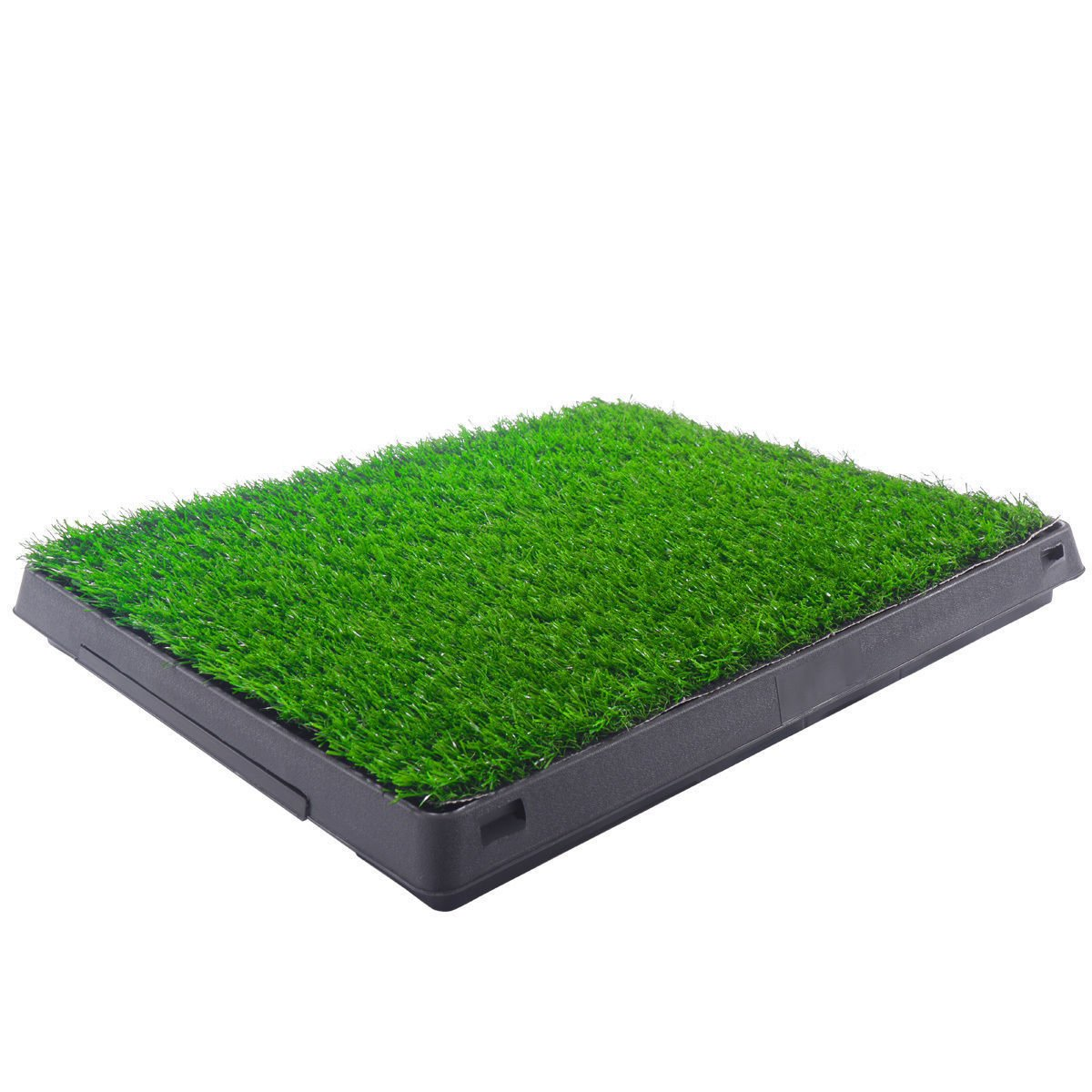 Eight24hours Indoor Puppy Dog Pet Potty Training Pee Pad Mat Tray Grass House Toilet W/tray + FREE E-Book