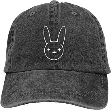 Gorra Hombre Béisbol Retro Snapback Unisex Jeans Hat Bad-Bunny ...