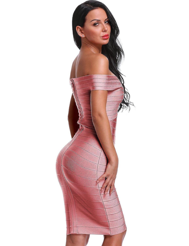 Hot Pink Bandage Dress Plus Size