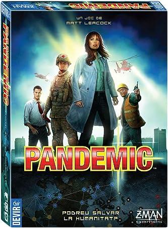 Devir - Pandemic, catalán, Juego de Mesa (BGHPANCAT): Amazon.es: Juguetes y juegos