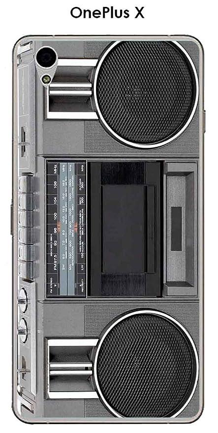Carcasa OnePlus X Design ghetto-blaster: Amazon.es: Electrónica