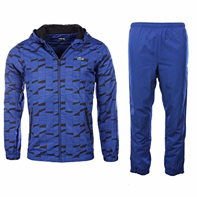 ae662161eb Lacoste Homme - Ensemble survêtement Bleu électrique WH2127: Amazon ...