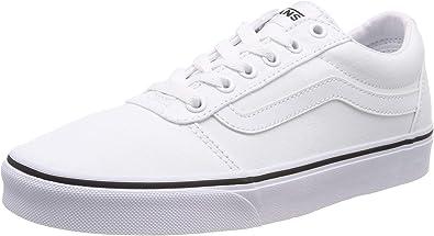 baskets vans femme blanche