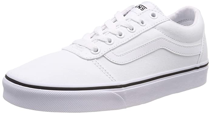 Vans Ward Sneakers Canvas Damen Weiß