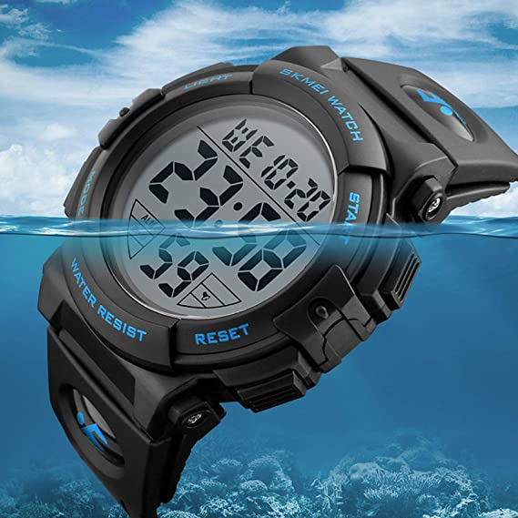Amazon.com: Lomanda - Reloj digital de cuarzo analógico para ...
