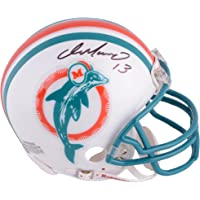 Dan Marino Miami Dolphins Autographed Riddell Throwback Mini Helmet… photo