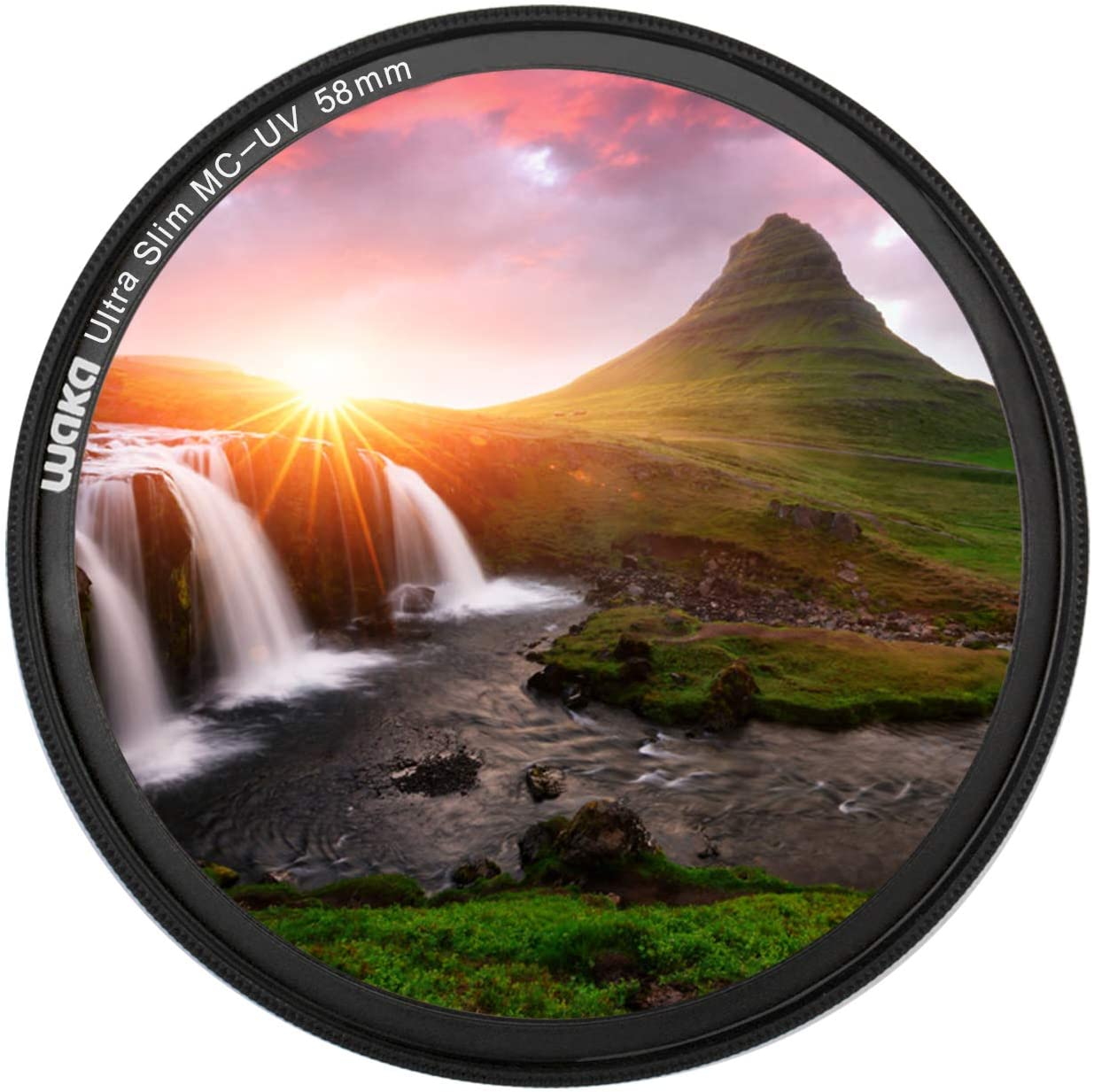 HOT 49mm Ultra-Violet UV Filter For The lens and cap with 49mm threads