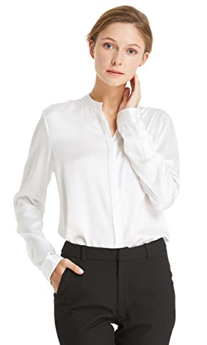 Lilysilk Camisa Mujer Seda DE 22 Momme Estilo de Oficina