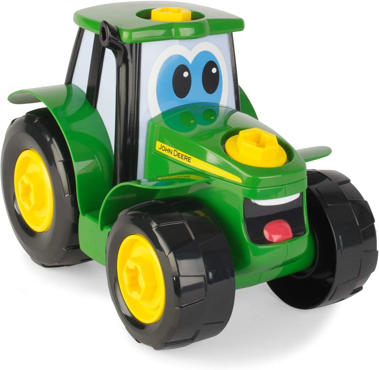 TOMY John Deere Build-A-Johnny Tractor Toy for Kids