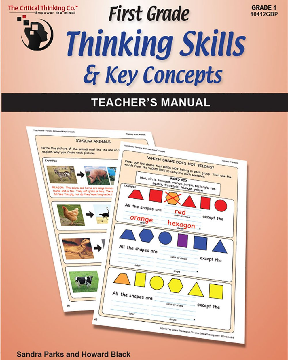 Download First Grade Thinking Skills & Key Concepts: Teacher's Manual pdf epub