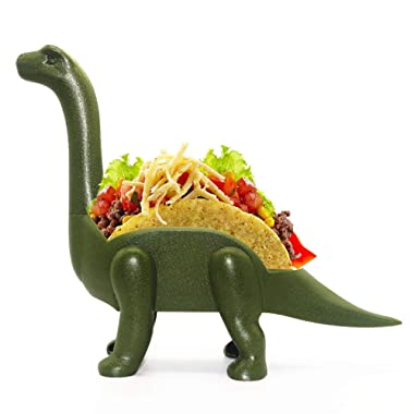 Homics Dinosaur Taco Holder, Jurassic Ultimate Prehistoric Taco Stand Holder Taco Truck Holder for Tacos Tuesday, Perfect Funny Gift for Kids and Taco Lovers