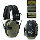 HQ ISSUE Walker's Patriot Series Electronic Ear Muffs