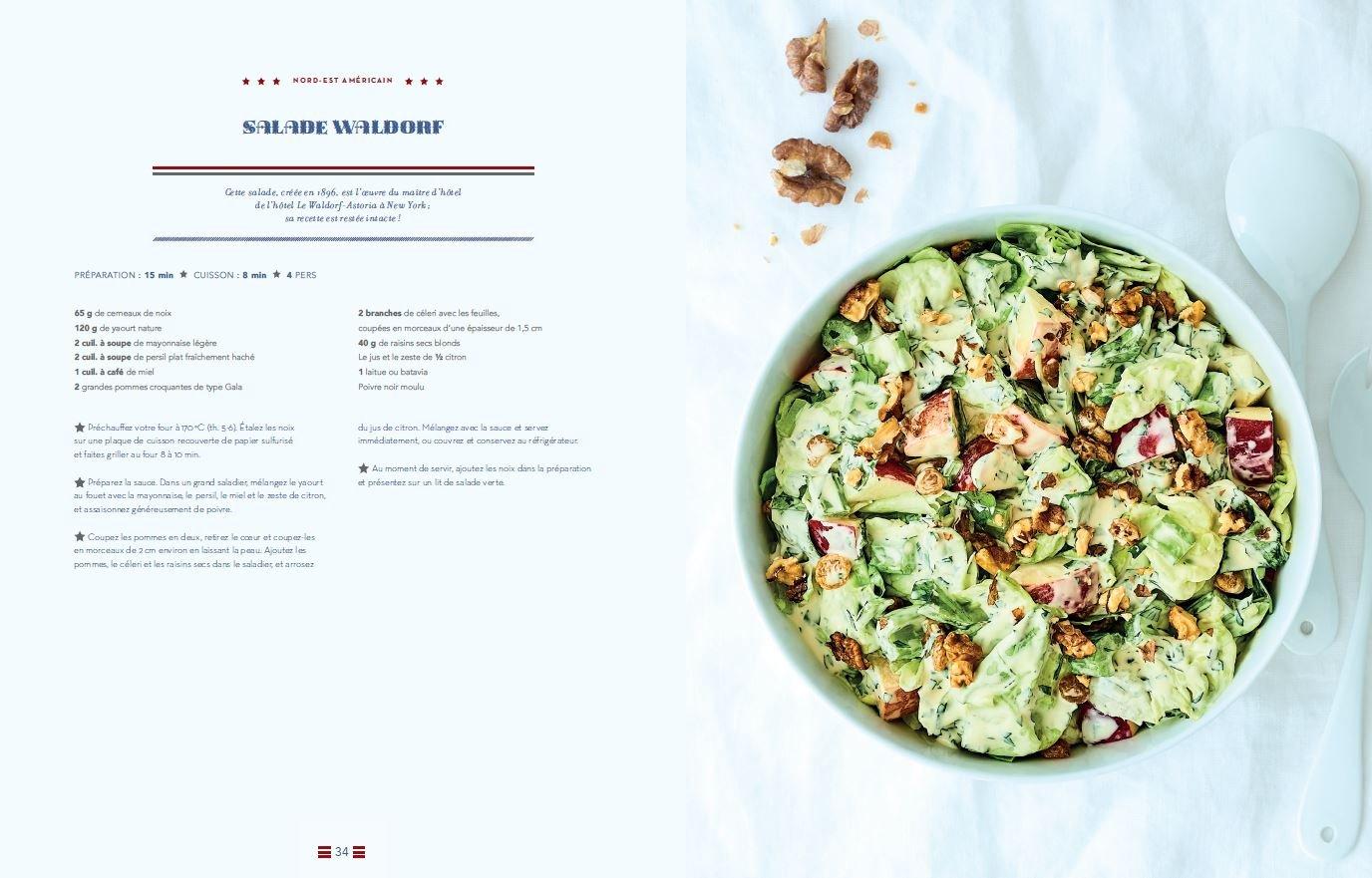 La Cuisine Americaine Familiale Authentique 9782016258033 Amazon