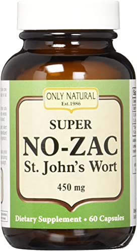 Only Natural St. John s Wort super No-zac .3 , 60-Count