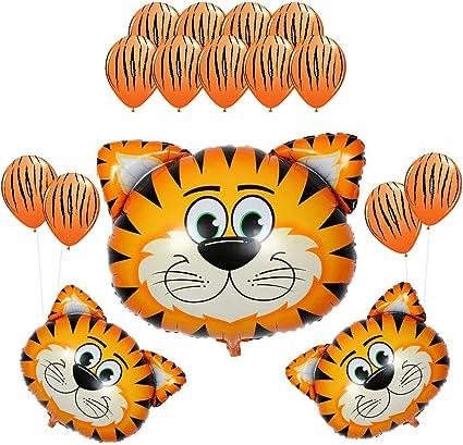 Amazon.com: partigos Tigre Animales de Granja Vaca Zebra ...