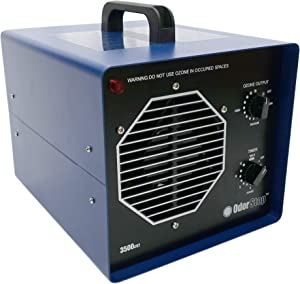 OdorStop OS3500UV2 Professional Grade Ozone Generator/UV Air Purifier Ionizer for Areas of 3500 Square Feet+, For Deodorizing and Purifying Medium to Large Spaces Such as Homes and Offices