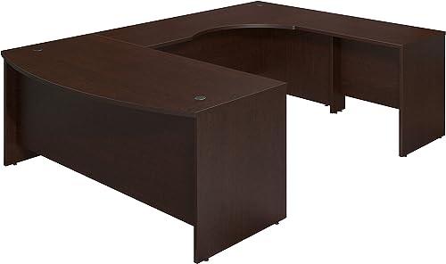 Bush Business Furniture Series C Elite 72W x 36D Right Hand Bowfront U Station Desk Shell