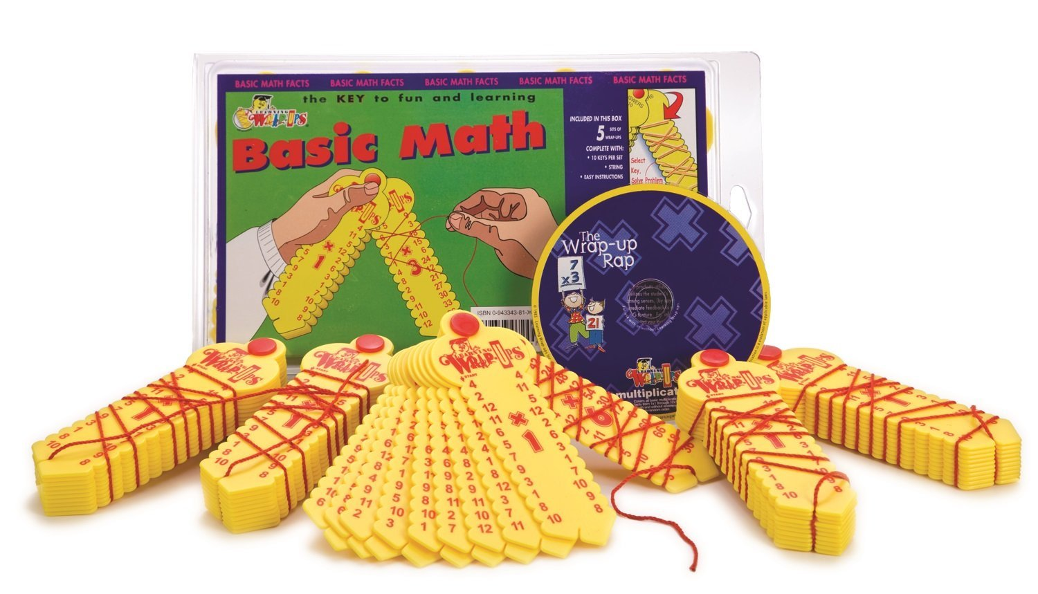 Learning Wrap-ups Self Correcting Multiplication Center Kit with CD
