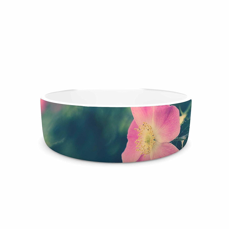 7\ KESS InHouse Ann Barnes Central Park pinks Pink Nature Pet Bowl, 7