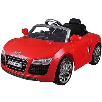 Amazoncom Costzon Audi R Spyder V Electric Kids Ride On Car - Audi r8 car