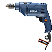 FERM PDM1056 Impact Power Drill - 500W - 2M Cable - Reversible Function