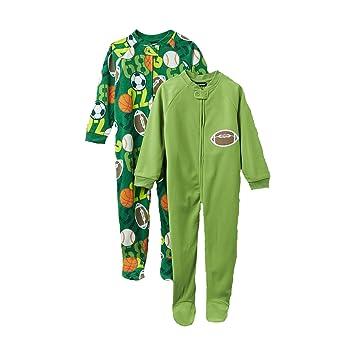 f4916294daa6 Amazon.com  Joe Boxer Boys 2 Pack Blanket Sleeper (3T