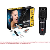 Wright WR 800 Condenser Microphone with Free USB Sound Card
